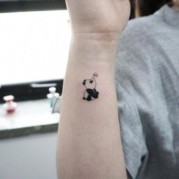 Fantastic Tattoo Are Offered On Our Site Look At This And You Will Not Be Sorry You Did Panda Tattoo Cute Animal Tattoos Tiny Tattoos For Girls