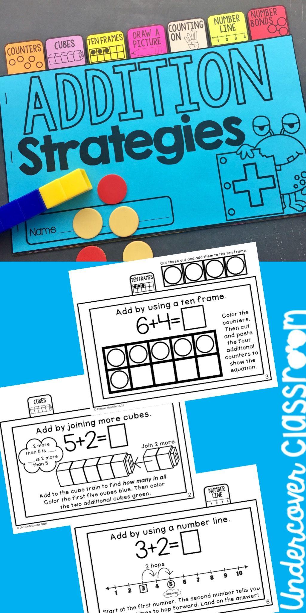 Addition Strategies Tab Book
