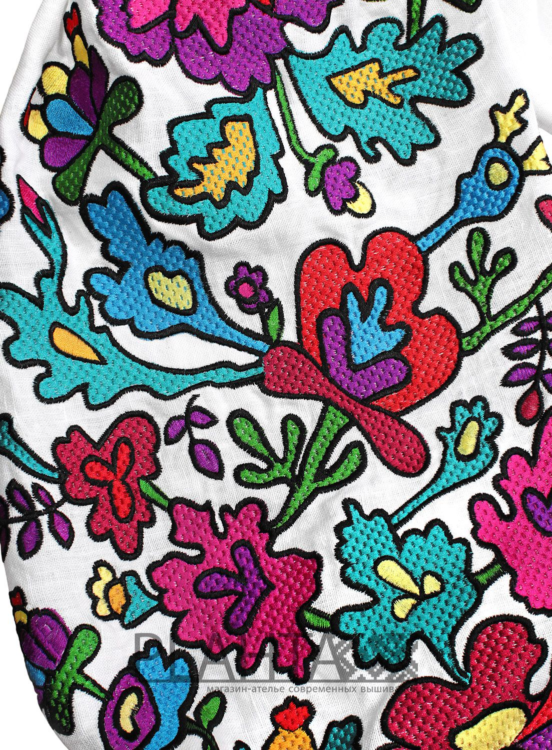 Платье-вышиванка Butterfly Embroidery 00dca41881760