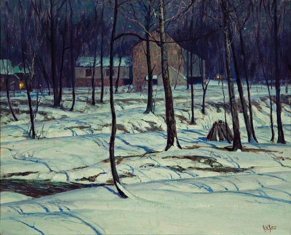 1stdibs | The Neighbors, George William Sotter, 1935