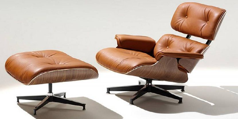 Eames Lounge Chair Brown Leather New Apartment 2019 In