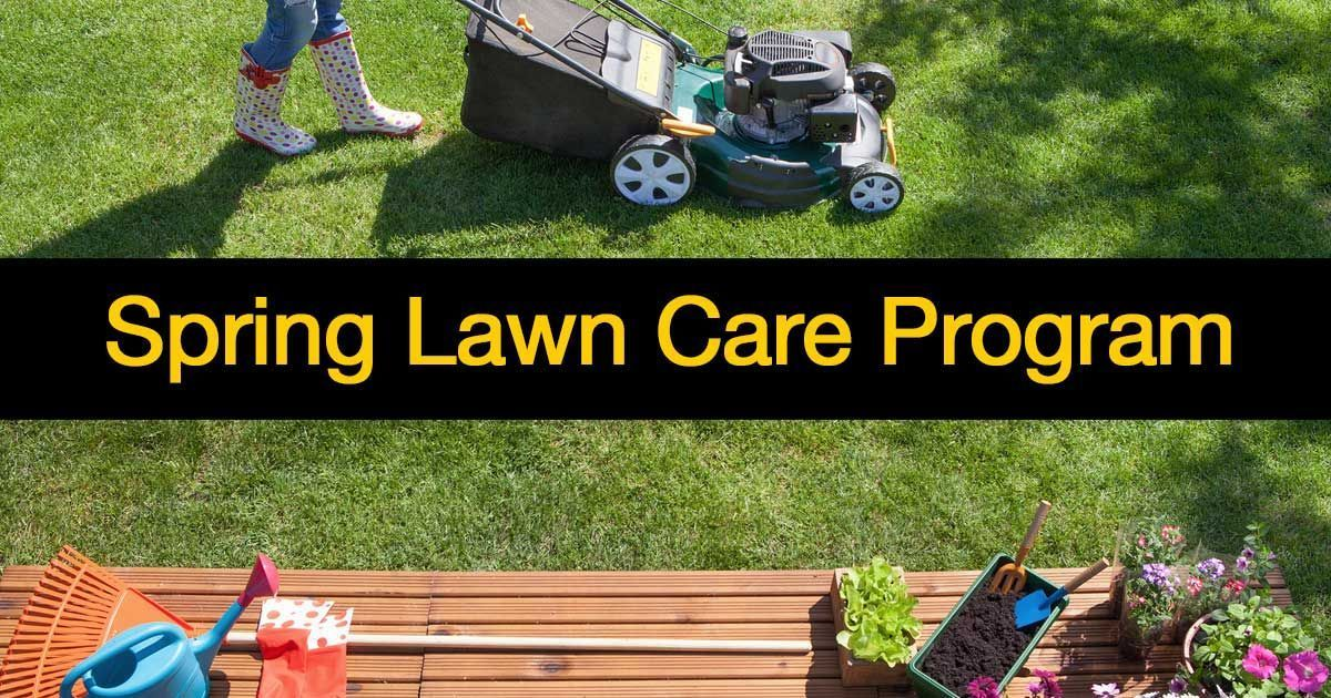 Summary Spring Lawn Care Maintenance Is Key To A Great Looking