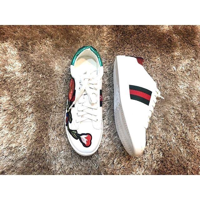 Gucci Putih harga Rp 375000 sepatuoriginalmurah