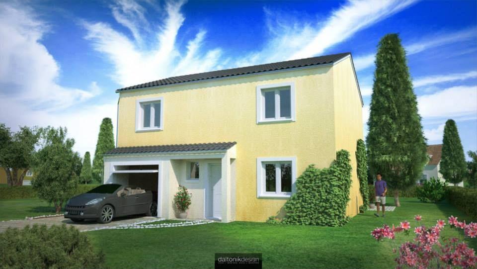 Mod le de maison individuelle gamme maisons d 39 en france for Modele maison d en france