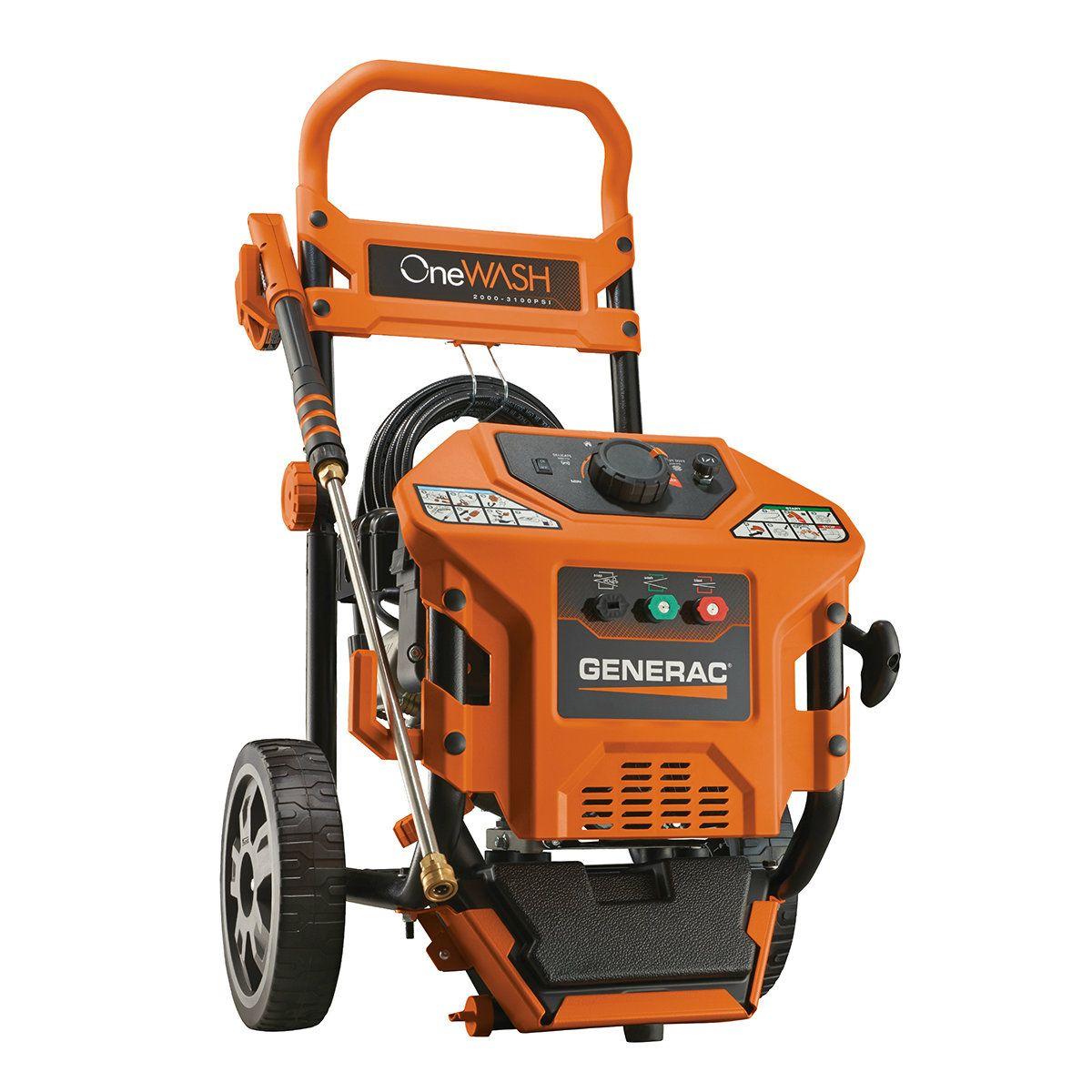 Generac 6602 Residential 3100PSI One Wash Best pressure