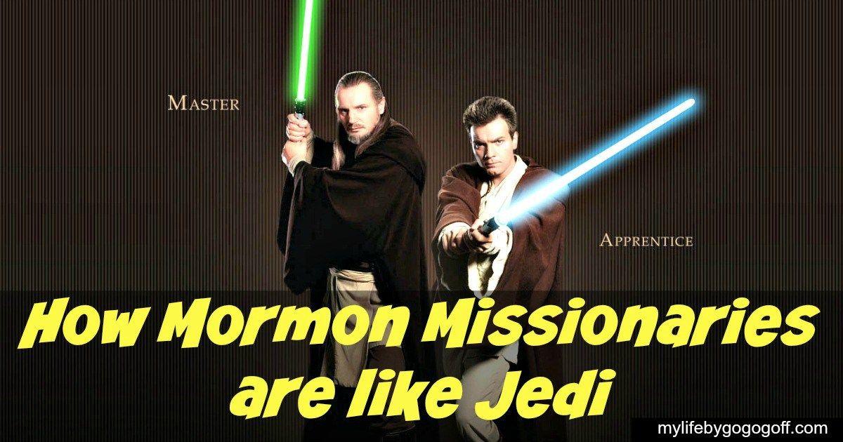 How Mormon Missionaries are like Jedi