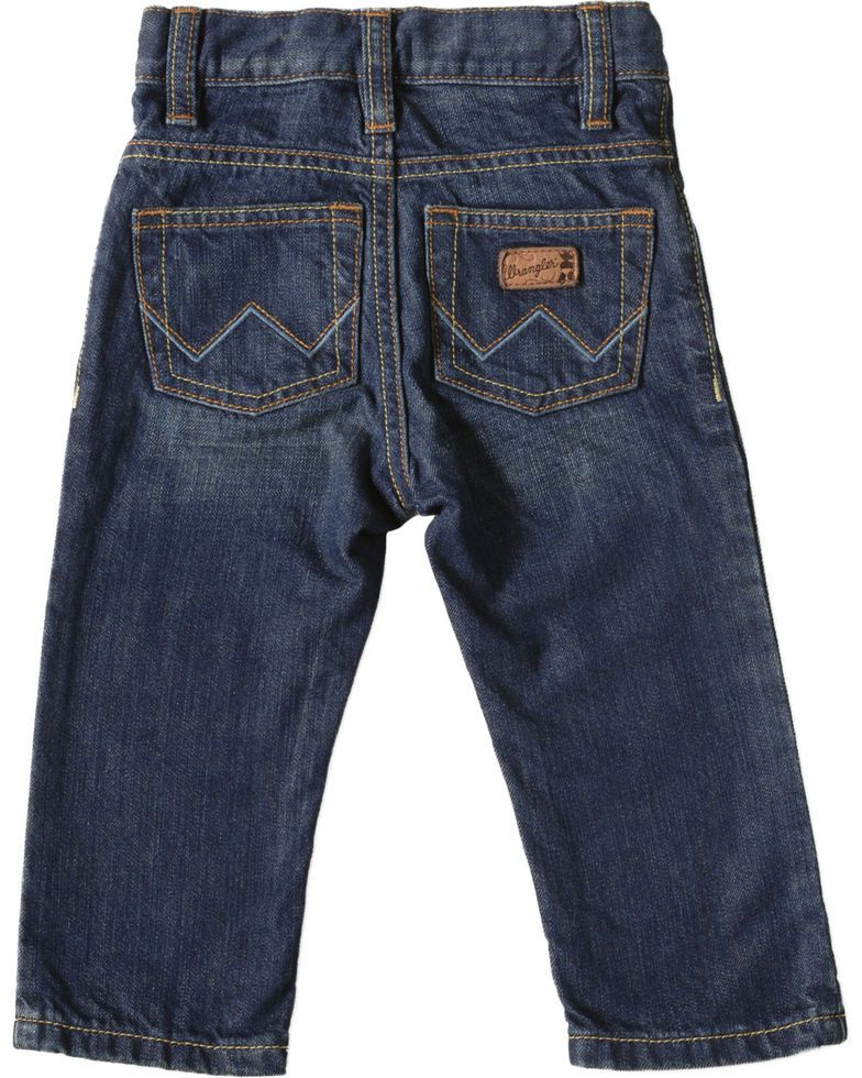 71ff7e41 Wrangler Infant/Toddler Boys Jeans - 3-18 Months, Med Wash, hi-res