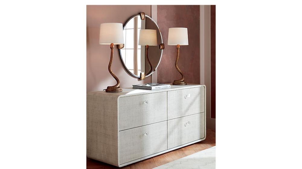 Archer Lacquered Linen Low Dresser Reviews Cb2 Low Dresser Cheap Bedroom Furniture Dresser As Nightstand