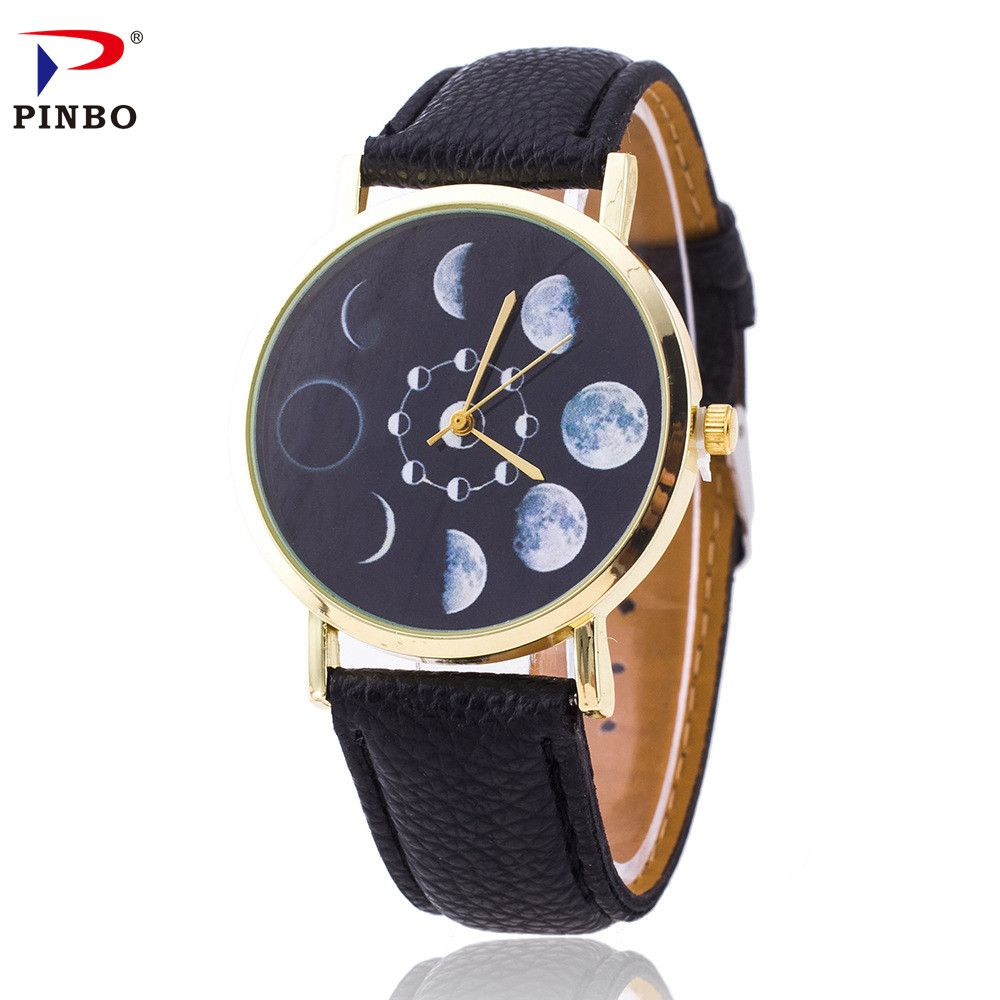 Click to buy ucuc casual women watch fashion montre solar eclipse