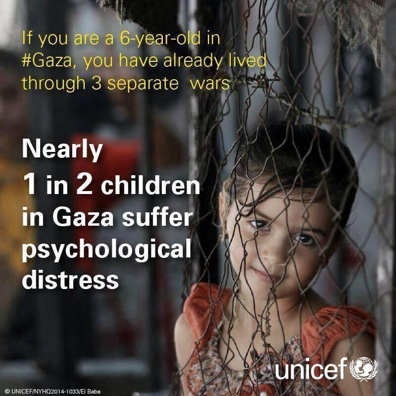#Gaza has 1.8 million people, half are CHILDREN. The assaults punishes the CHILDREN. Raise your voice #BreakGazaSiege pic.twitter.com/sNaAGFQuTQ