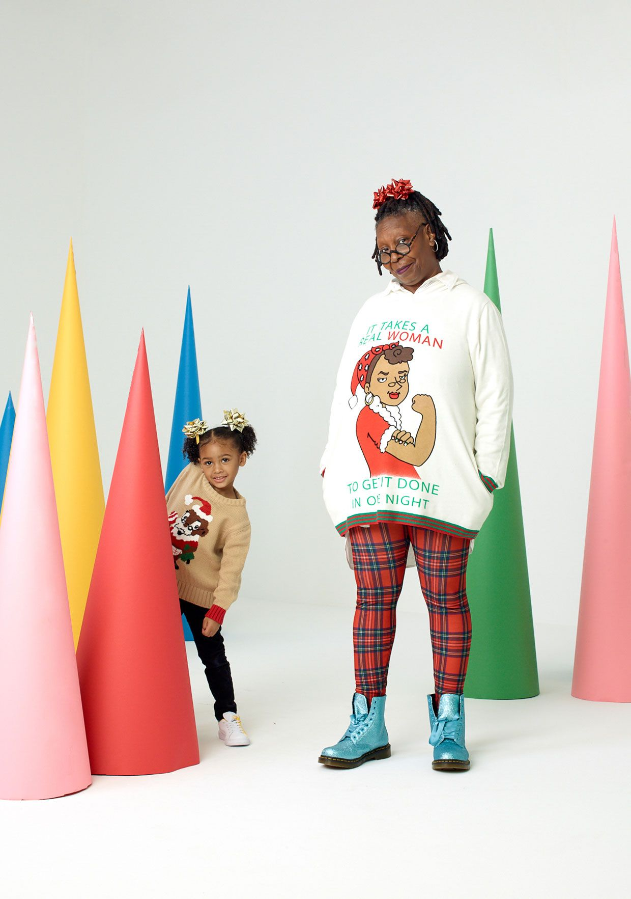 Whoopi Goldberg Holiday Sweaters In 2018 Holidays Christmas 2
