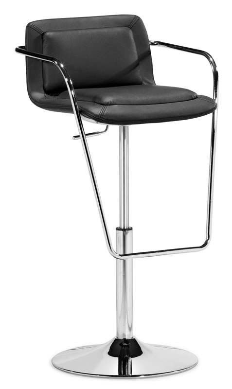 Zuo Modern Harper Barstool 297 99 Each Colors To Choose From Black White Www Modernchairsdirect Com Modern Bar Stools Bar Stools Modern Patio Furniture