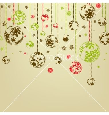 Vintage christmas background vector 594046 - by beholdereye on ...