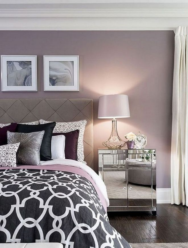 37 Purple and White Bedroom Ideas (With Pictures ...