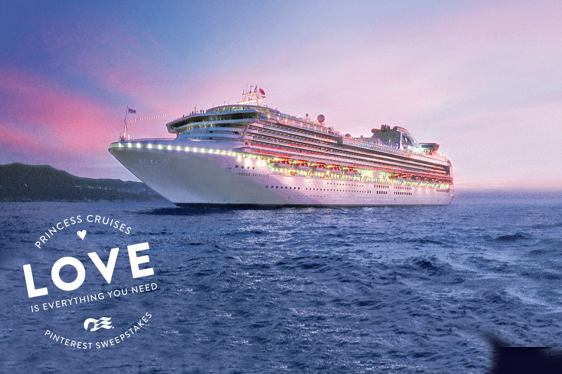Love is everything you need And Id love to take a cruise