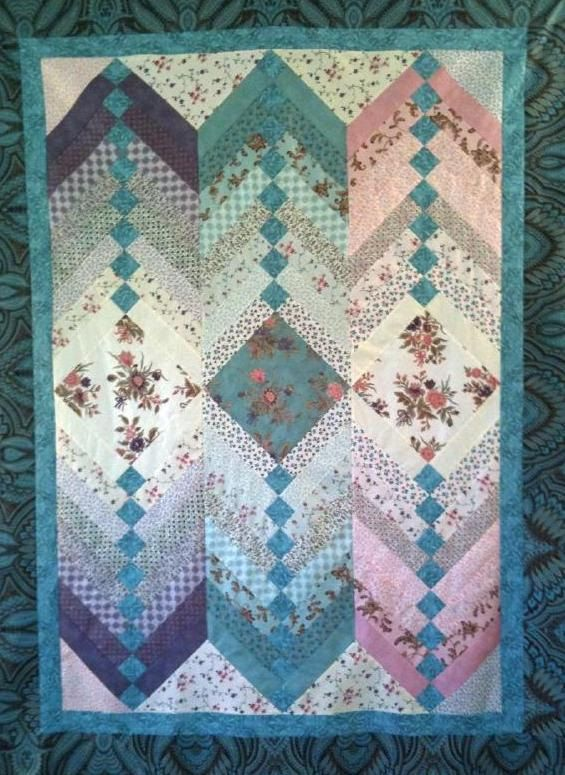Jelly Roll French Braid Quilt Pattern 9 00 Via Etsy
