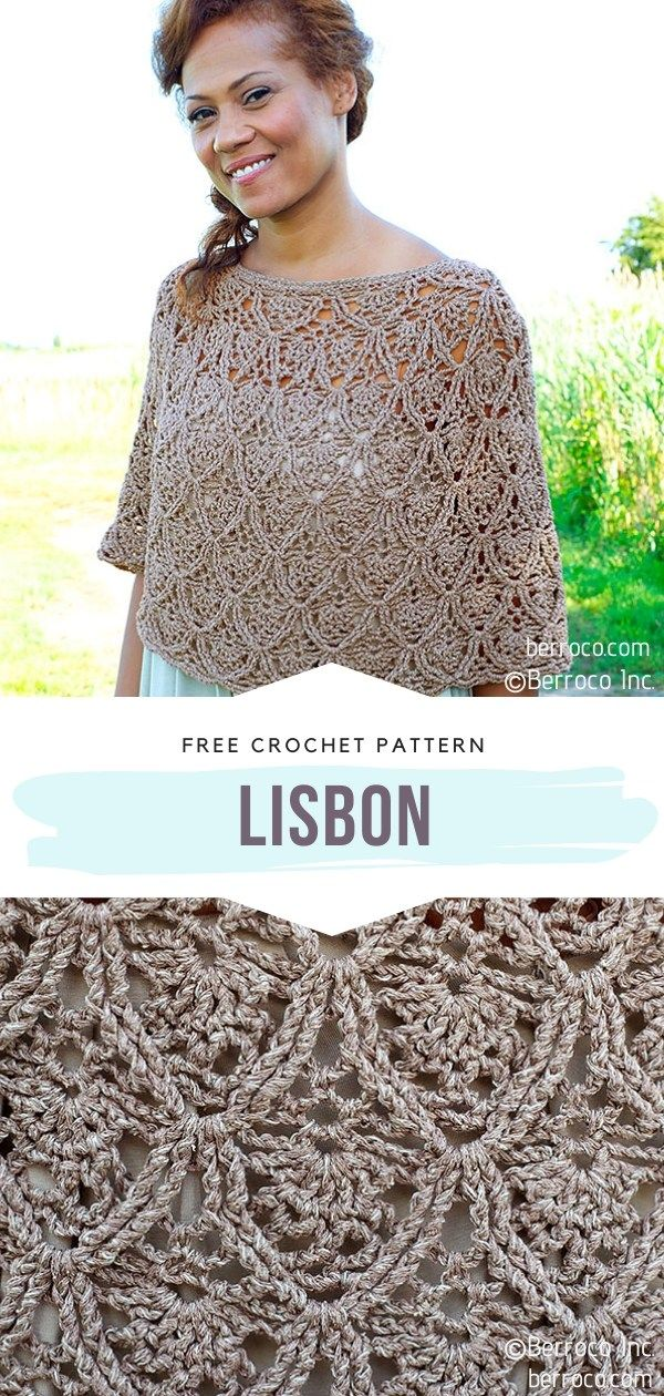 How to Crochet Lisbon Poncho