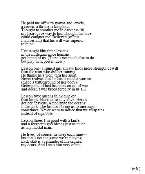 Persephone Essay | Essay