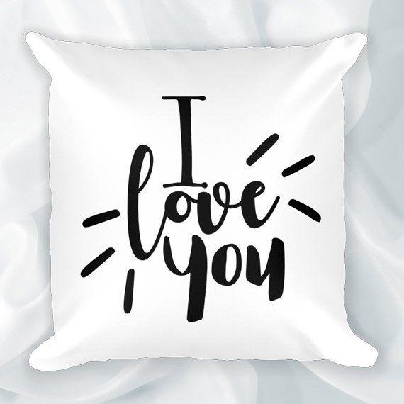 Pillow Case 18 x 18 Te amo abuelita | Etsy