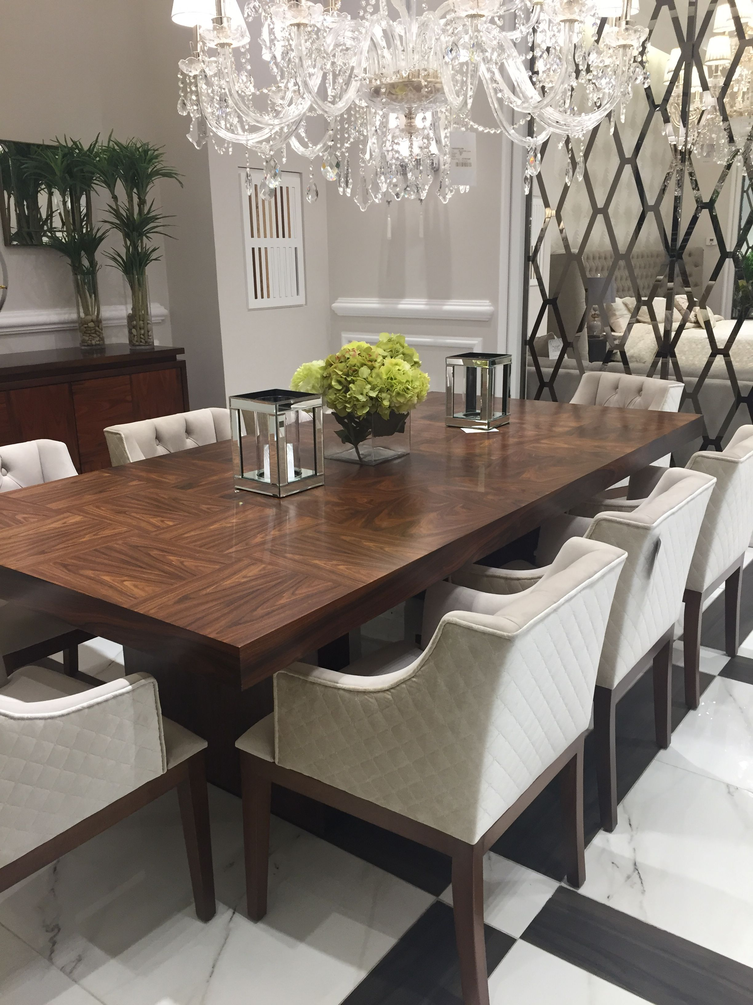 Pin By P La Jarvinen On Home Art Deco Dining Room Modern Dining Room Set Contemporary Dining Room Sets