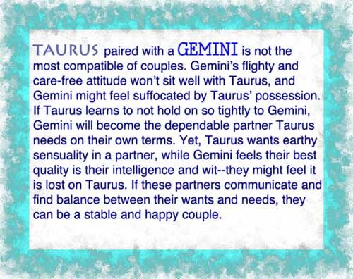 Gemini and Gemini - Compatibility in Sex, Love and Life