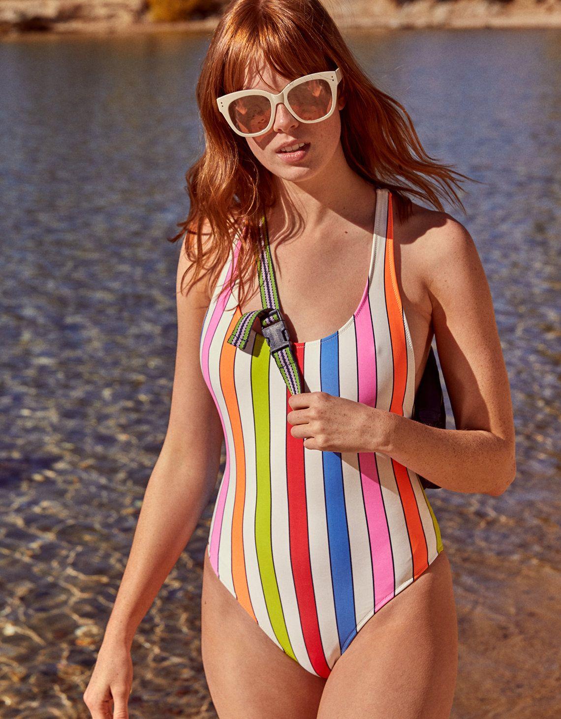 ca92c56c91525 Aerie The One Piece Racerback Swimsuit Assorted Color