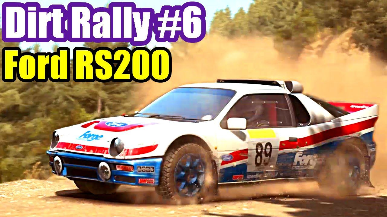 Dirt Rally Pc 6 Ford Rs200 Greece Boy Vs Girl Boys Vs Girls Rally Ford