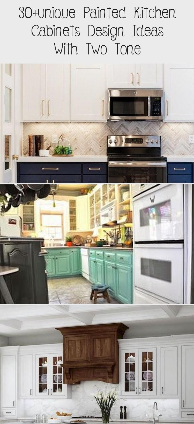 Photo of 30 + unique Painted Kitchen Cabinets Design Ideas With Two Tone – KTCHN