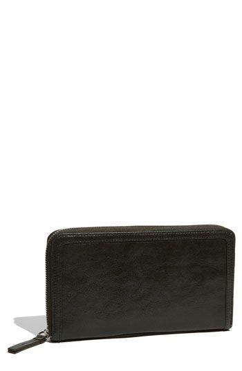 Halogen® Ostrich Embossed Leather Wallet   Nordstrom - StyleSays