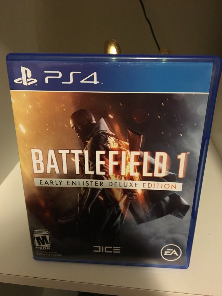 Battlefield 1 Early Enlister Deluxe Edition Sony Playstation 4