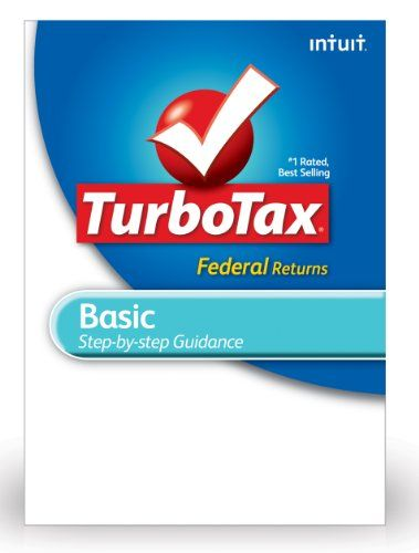 TurboTax Basic Federal + EFile 2012 for PC [Download] for