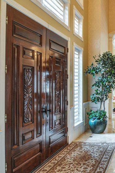 exotic oversized solid wood front door - Google Search & exotic oversized solid wood front door - Google Search | My Life ...