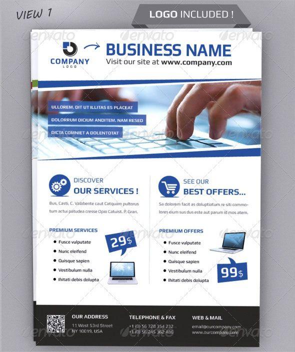 100 free professional brochure template psd designs