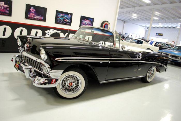 1956 Chevrolet Bel Air Convertible For Sale Hemmings Motor News Chevrolet Bel Air Chevrolet Classic Cars Vintage