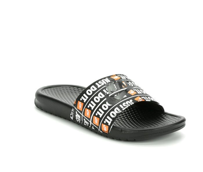 new product 7fa33 161fd Men s Nike Benassi JDI Print Sport Slides
