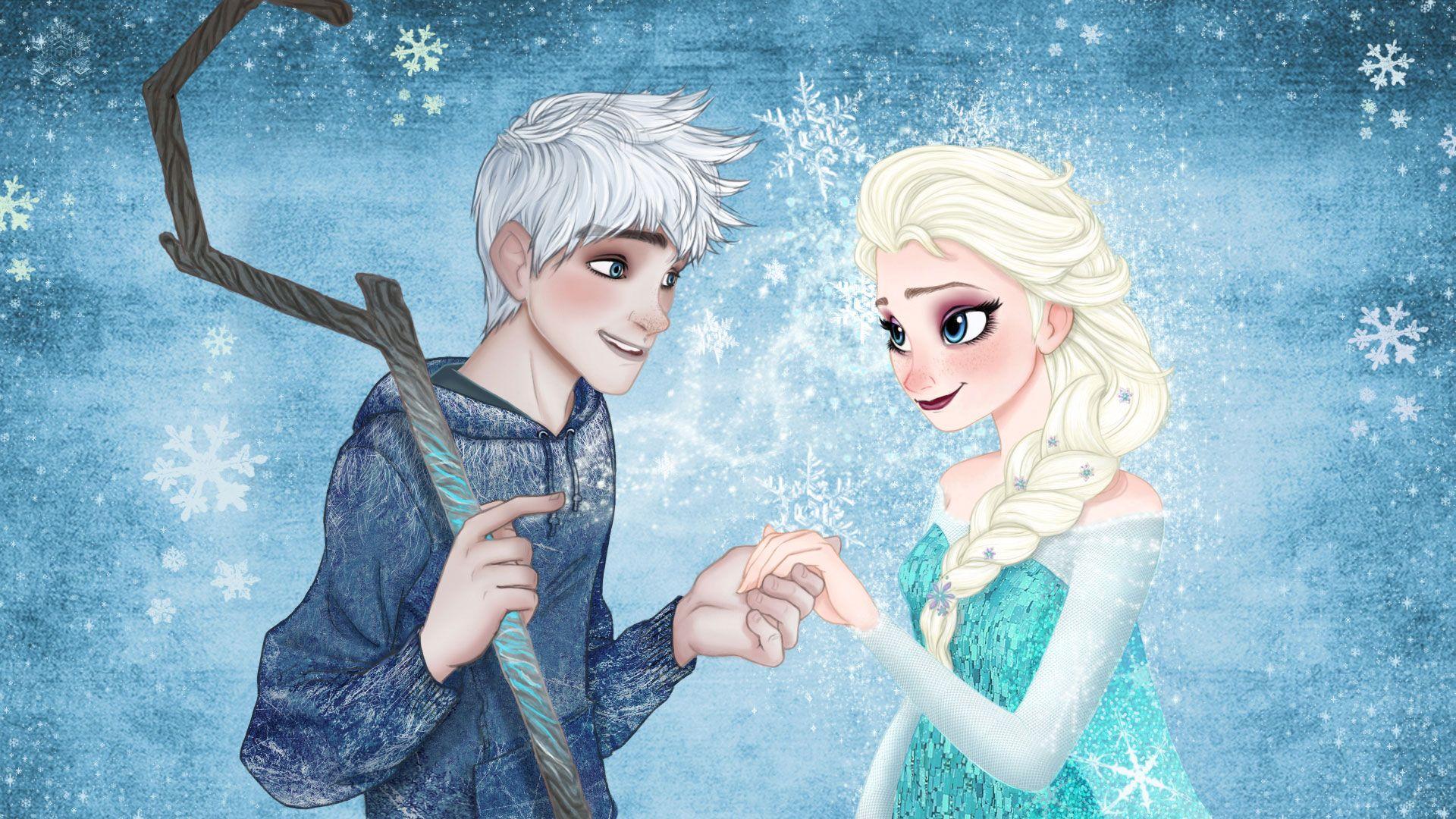 elsa and jack | jack frost and queen elsa wallpaper 2 frozen elsa