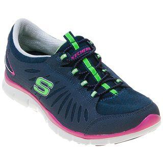 Skechers Women S Sketchers Gratis In Motion 22169 Slip On Sneaker Infinity Shoes Mens Fashion Shoes Sketchers Shoes Skechers Women