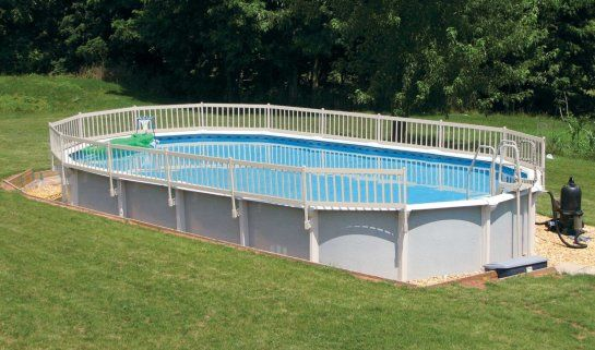 Exceptional Free Standing Above Ground Pools with Aluminum Above ...