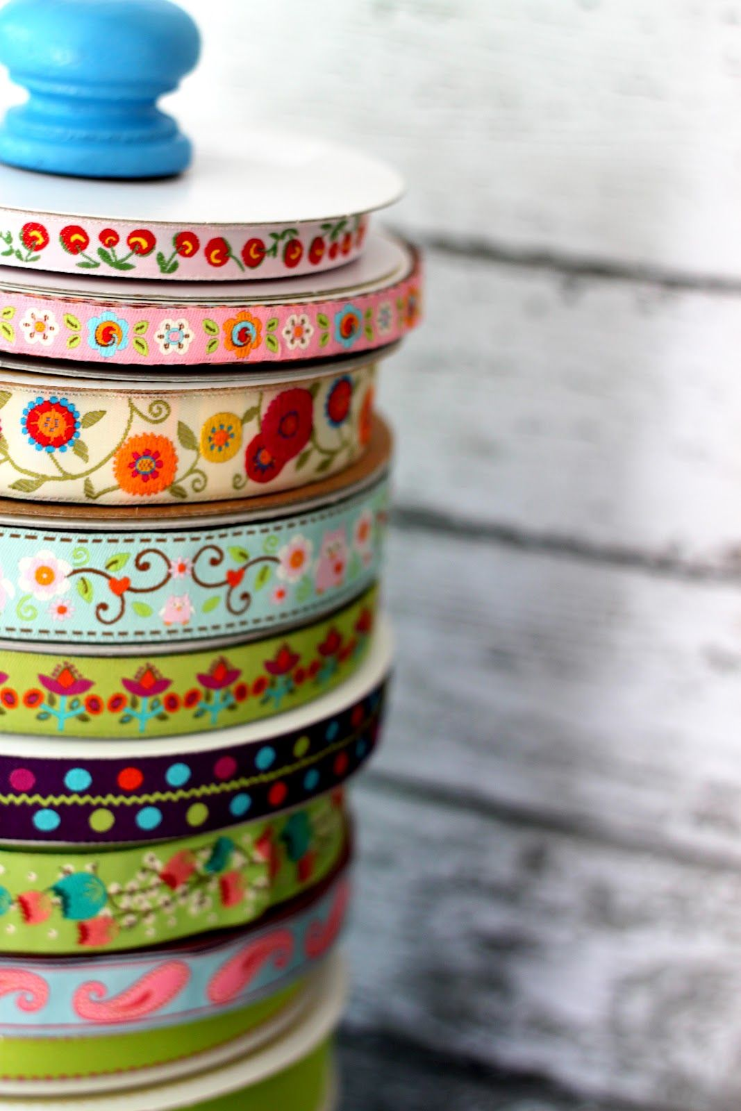 Diy Ribbon Holder Tutorial Diy Ribbon Organize Fabric Ribbon Holders