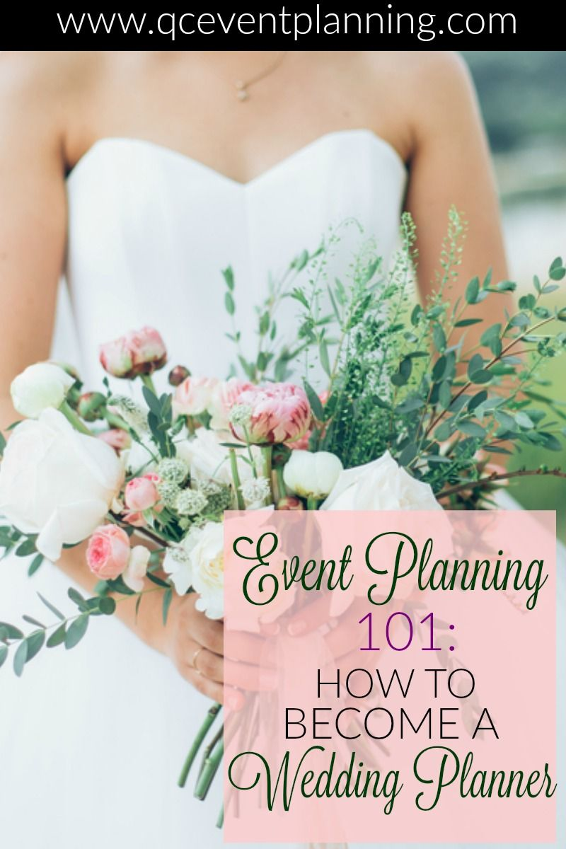 How do you go about becoming a wedding planner Becoming certified