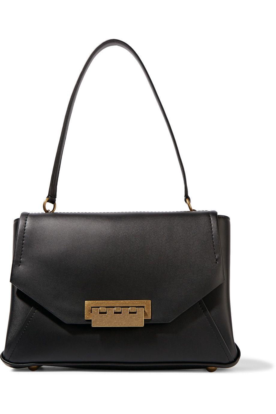Eartha leather shoulder bag | ZAC Zac Posen | THE OUTNET