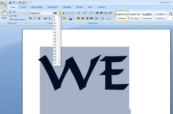 Rustic Fonts In Microsoft Word