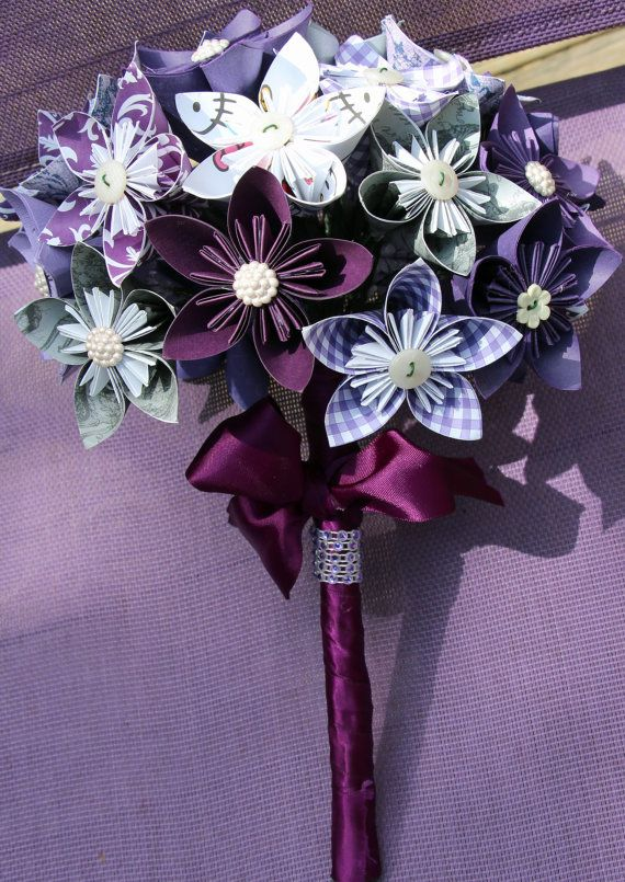 Kusudama flower bouquet by ohhappycrafts on Etsy | Great Ideas ...
