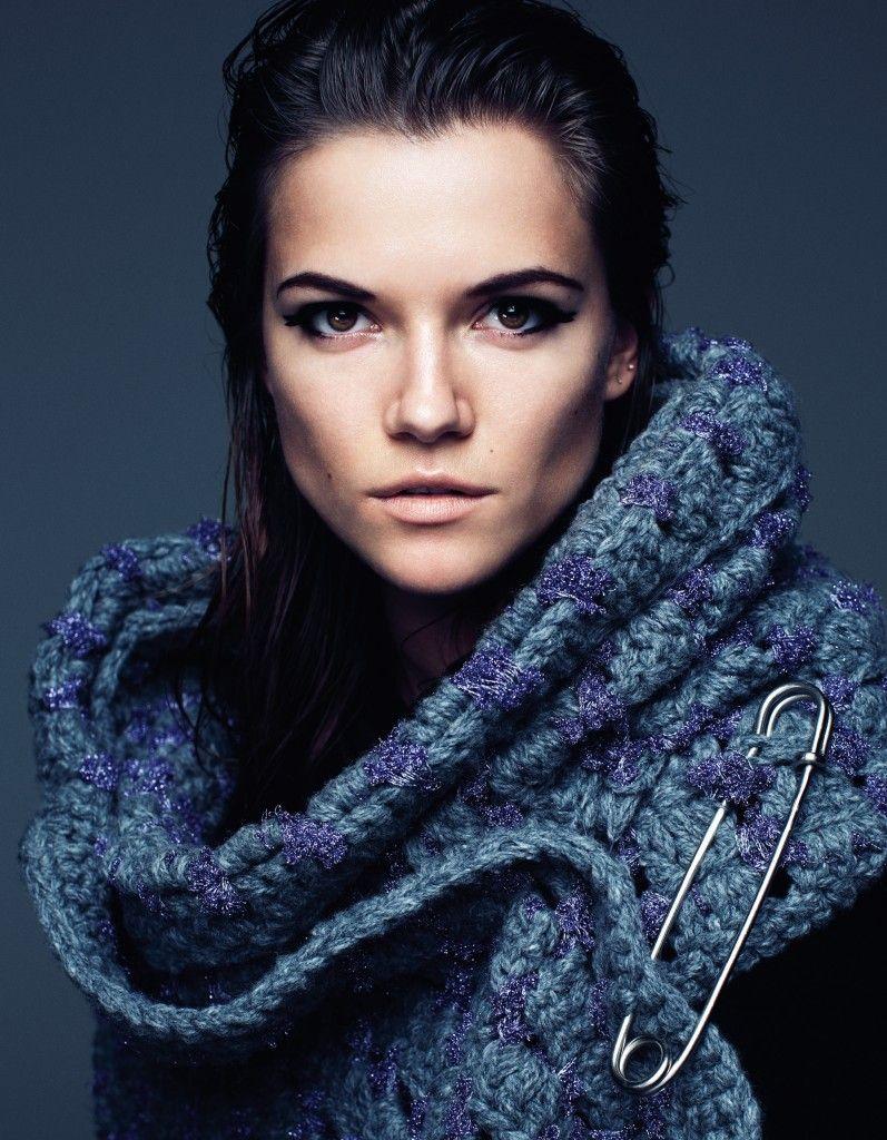 Kasia Struss by Steven Pan (A Big Time Story - Vogue Japan December 2012)