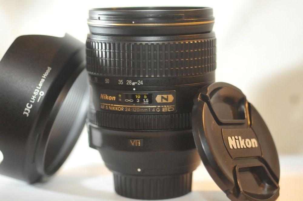 Nikon Ed Af S Nikkor 24 120mm F 4 G N Vr Swm M A Fx Lens For F5 D850 D750 D5 Df Nikon Nikon D750 Lens