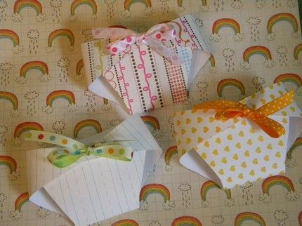 paper folded diapers