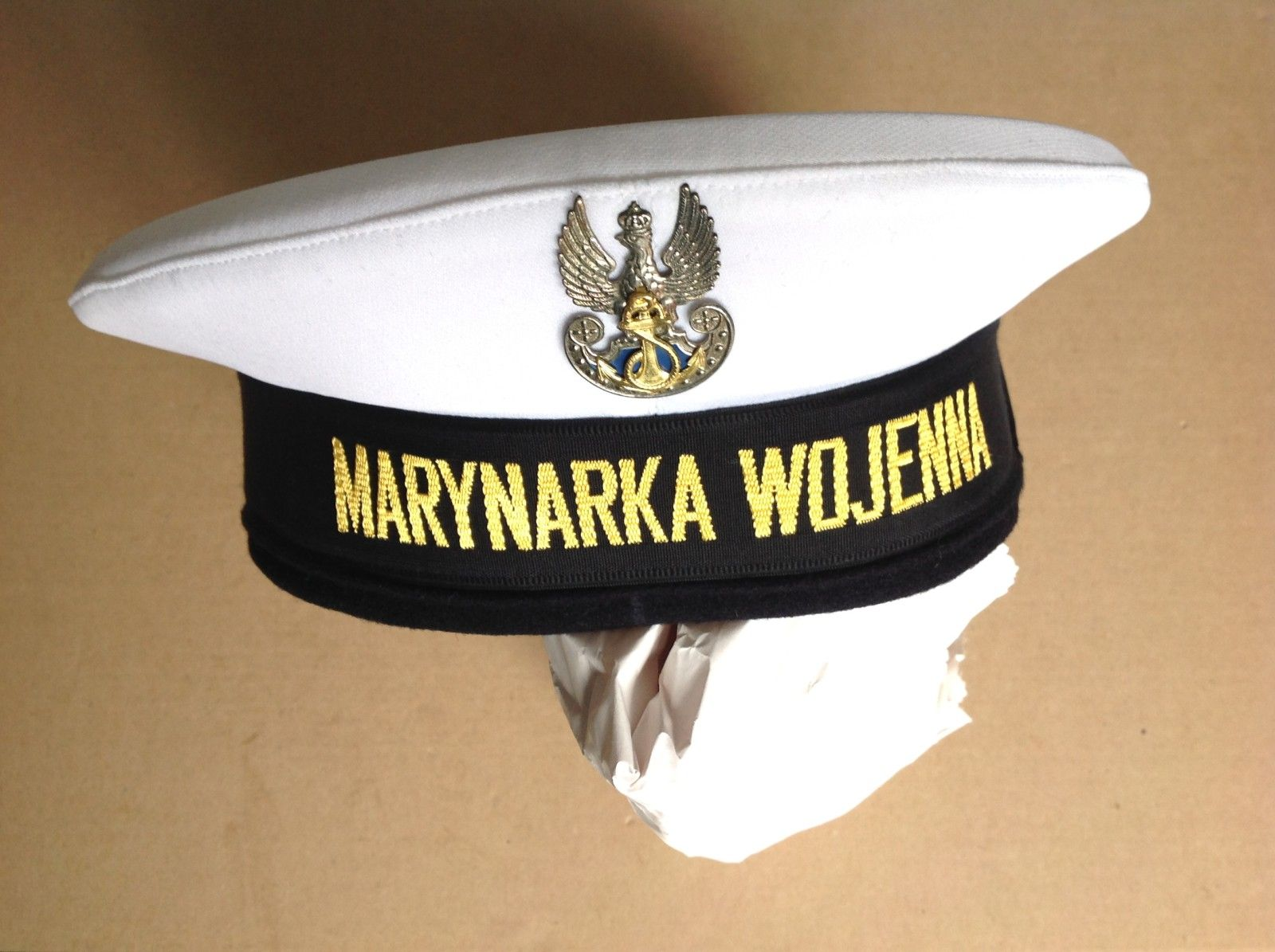 Czapka Garnizonowa Marynarki Wojennej Rp Modus 5932746559 Oficjalne Archiwum Allegro Captain Hat Hats Captain