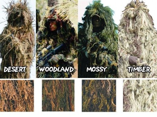 3b76f84e059f9 How To Make Your Own Ghillie Suit   W.S.G.R ( When Shit Gets Real ...
