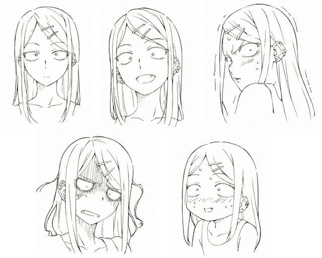 Cast And Theme Songs Revealed For Dagashi Kashi Anime Haruhichan Character Design Anime Drawings Sketches Anime Character Design