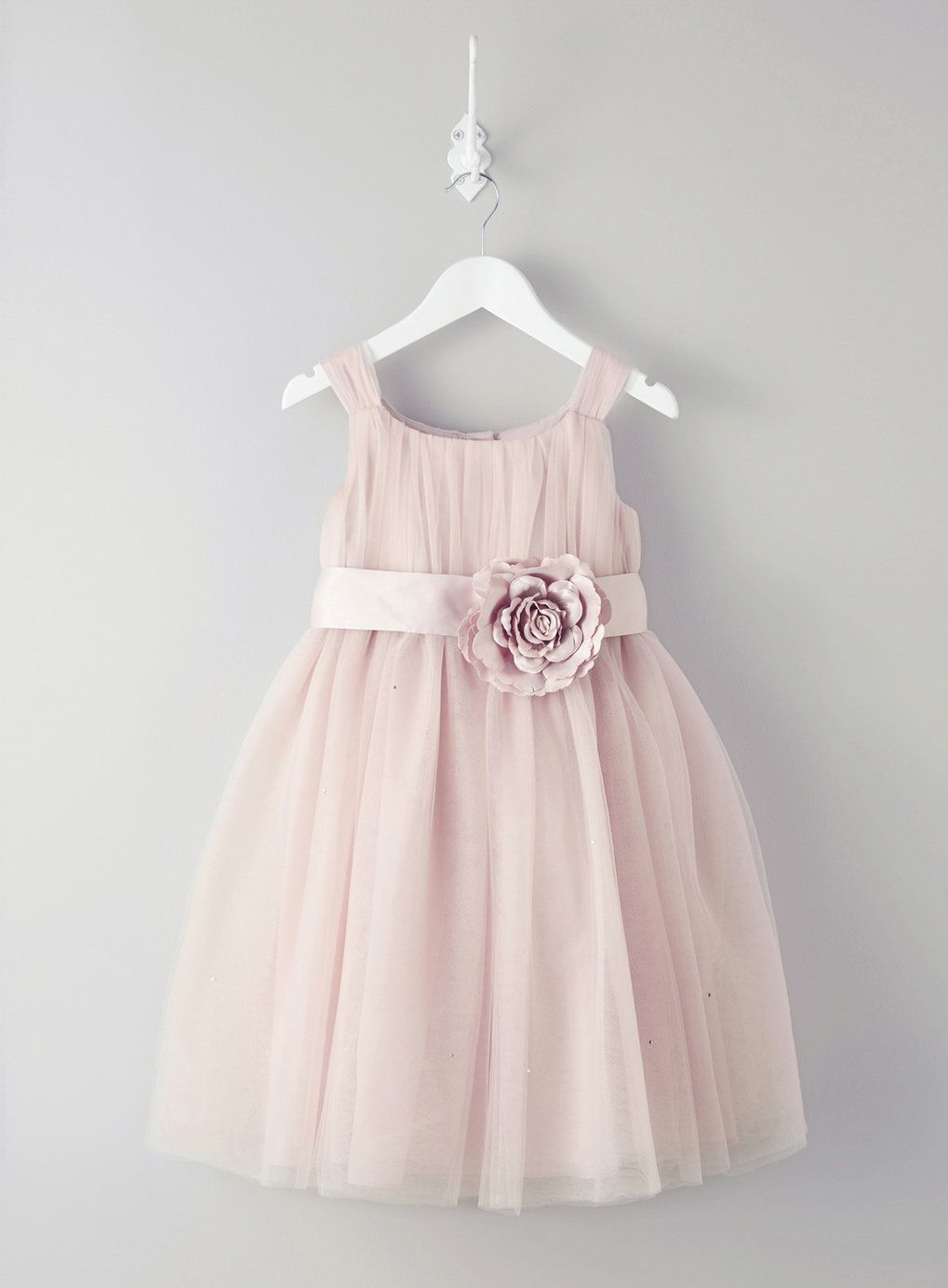 Lola Blush Flower Girl Dress - dresses - flower girl - Wedding- BHS ...